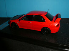 Mitsubishi Lancer Evo 1X in Red /Black bonnet Vitesse New release 1:43rd.Scale