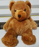 DAN DEE COLLECTORS CHOICE TEDDY BEAR PLUSH TOY! SOFT TOY ABOUT 22CM SEATED!