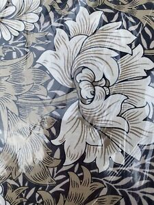 Morris & Co. Merton Chrysanthemum Taupe Cotton Fabric 4 Yds Craftsy