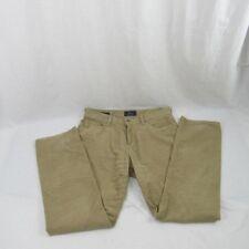 Lucky Brand Beige Corduroy Pants Men's Size Width 34 Length 32 Vintage