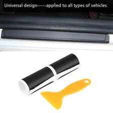 4Pcs PVC Universal Car Door Sill Scuff Plate Cover Anti Scratch Slip Sticker Set