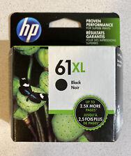 NEW GENUINE - HP 61XL BLACK INK CARTRIDGE - CH563WN - SEALED BOX 2018