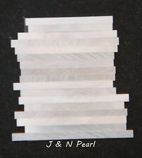 2sets Genuine Solid Mother of Pearl Straight Strips Purfling Width:1.6mm