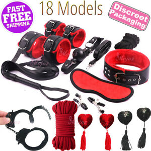 Bondage Kit BDSM Bondage Restraints Handcuffs Adult Games Cuffs Fetish Sex Toy