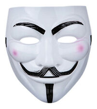 2 X MASCHERE V PER VENDETTA GUY FAWKES Fancy Dress Party Halloween Masquerade Maschera Faccia