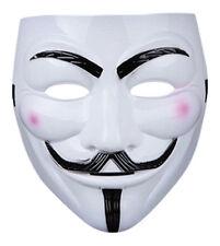 5 X MASCHERE V PER VENDETTA GUY FAWKES Fancy Dress Party Halloween Masquerade Maschera Faccia