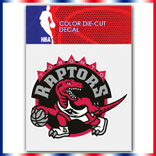 "Toronto raptors NBA Die Cut Vinyl Sticker Car Bumper Window 3.6""x4"""