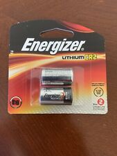 Brand New Energizer CR2 Lithium Battery EXP 2026  (2 batteries total)