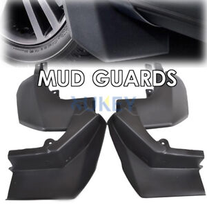 Set For Land Rover Discovery 4 09-16 Mud Flaps Splash Guards Mudguards Mudflaps