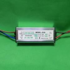 Controlador de LED impermeable de CA 25 ~ 36x1W Fuente De Alimentación Luz Lámpara Bombilla 25W 30W 36W hágalo usted mismo