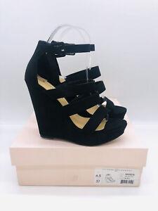 Chinese Laundry Women's Maneeya Wedge Sandals Black Us 6.5M / EUR 37