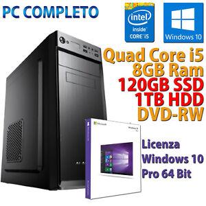 Desktop-Computer Neu Desktop Core i5-2400 8GB SSD 120GB +HDD 1TB