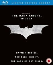 The Dark Knight Trilogy 5 Discs Complete Blu Ray Collection Box Set New Sealed