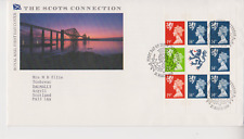 GB ROYAL MAIL FDC COVER 1989 SCOTS CONNECTION PRESTIGE PANE INVERNESS PMK