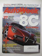 AutoWeek magazine - November 26, 2007