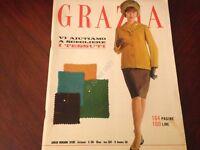 GRAZIA Rivista Magazine 26 Novembre 1961 n.1084 Edy Campagnoli Giulietta Masina