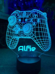 Xbox Newest 3D Bluetooth, Sensor Lamp Base APP Control Colors Changing LED Lamp