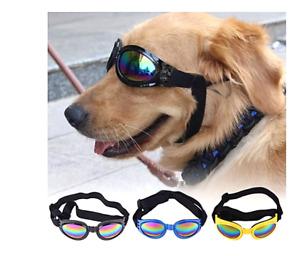 Dog Protection Sunglasses 5 Colors Foldable Pet Eyewear Medium Large Dog Goggles