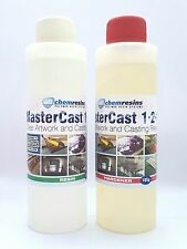 Clear Resin Epoxy Art Grade 400ml kit U.V Stable MasterCast inc free mixing tool