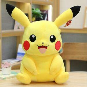 Cute Pokemon Collectible Plush Pikachu Soft Toy Stuffed Doll Teddy Kids Gift