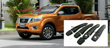 MATTE BLACK HANDLE COVER 4D FOR NEW NISSAN NAVARA NP300 /NOT TOP 2014 PICKUP FIT