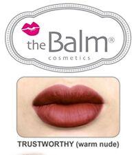 The Balm Cosmetics -Meet Matte Hughes Long Lasting Liquid Lipstick - TRUSTWORTHY