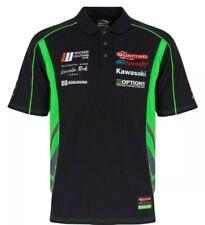 Quattro Kawasaki Polo Shirt MotoGP Genuine Merchandise Size M 1st Royalmail
