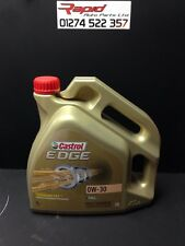 Castrol Edge Fully Synthetic 0W30 Engine Oil free postage (4 Litre)
