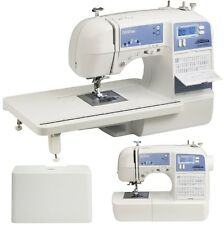 Brother Project Runway Sewing Machine Built-in Monogram Stitches Quilting Table