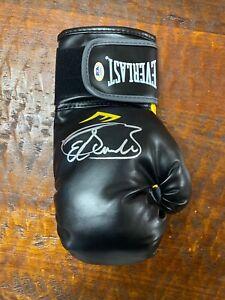 Saul Canelo Alvarez Signed Boxing Glove Psa Dna COA Autographed