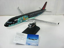 Tim y Tintín Tintin Moulinsart Rackham airbus a320 brussels airlines 1:100