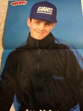 Joey Joe McIntyre, New Kids on the Block, Two Page Vintage Centerfold Poster