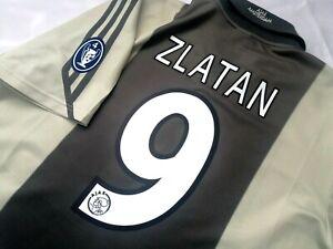 Jersey adidas Ajax Amsterdam Zlatan ibrahimovic (XL) 2001 Europa league sweden
