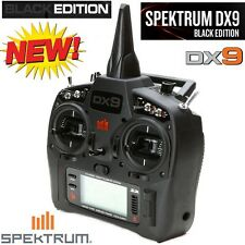Spektrum spmr9910 DX9 Black Edition 9-channel DSMX Transmetteur seulement mode 2