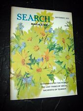 Search Magazine #105 ~ 1972  ufonauts astrology UFO's paranormal Occult