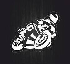 Adesivi adesivo sticker moto auto biker tuning skull teschio motocross gp r1