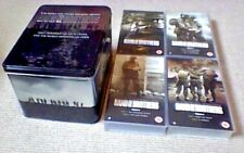 Band Of Brothers 4 x UK PAL VHS VIDEO STEEL BOX SET 2002 Steven Spielberg