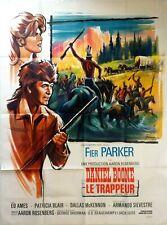 Affiche cinéma western DANIEL BOONE LE TRAPPEUR - 120 x 160 cm