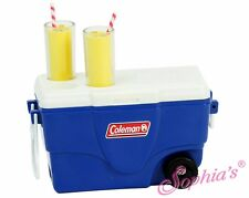 """Blue Coleman® Cooler for 18"""" American Girl Dolls - Camping - Sports"""
