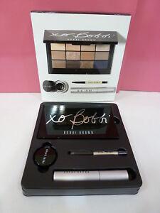 NIB Bobbi Brown Secret to Standout Eyes Palette Set - Shadow Mascara Liner Brush