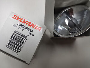 Halogen 2 pcs ,Incandescent Light Bulb, SYLVANIA, 20W, 20AR70/8/SP, 59013, BA15D