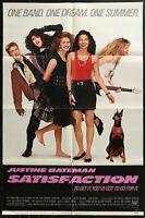 Satisfaction Justine Bateman Comedy VINTAGE 1988 1-SHEET MOVIE POSTER 27 x 41  1