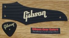 Gibson Firebird Truss Rod Cover Non Reverse Black / Gold Guitar Parts Project T