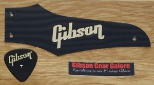 Gibson Firebird Truss Rod Cover Non Reverse Black / Gold Guitar Parts Project T