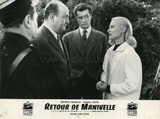 MICHELE MORGAN  BERNARD BLIER  RETOUR DE MANIVELLE 1957 VINTAGE PHOTO ORIGINAL