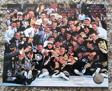 PHIL BOURQUE AUTO SIGNED 8 x 10 PHOTO PITTSBURGH PENGUINS RARE SWEET LOOK