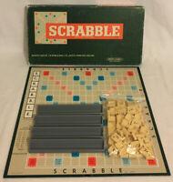 Scrabble Board Game 1955 Spear's Games Vintage