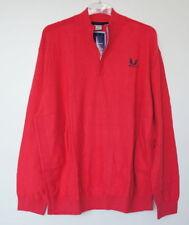 Unifarbene Herren-Pullover & -Strickware mit Polokragen und Reißverschluss