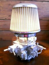 Great Gift Idea! Fiat 124 Sport Spider Carburetor Table Lamp w/ Air Filter Shade