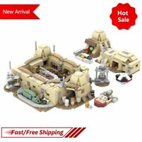 MOC SW Star Series Wars Micro Mos Eisley Cantina Building Blocks Kids Gifts Toys